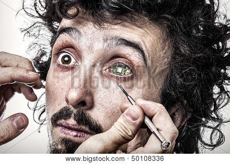 Cyber Eye Checkup