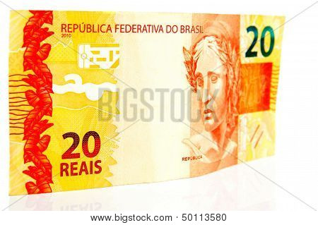 Twenty Brazilian Real