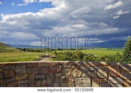 Flathead Lake Montana, Usa