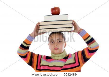 Angry Girl Student
