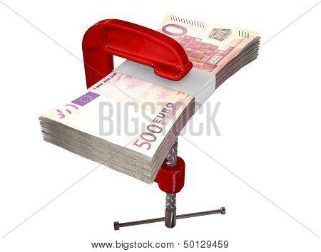 Clamped Euro Notes