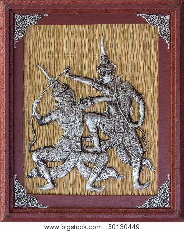 Thai Silver Engraving