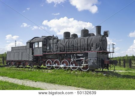 The Steam Locomotive Of Soviet Production Of The 30S