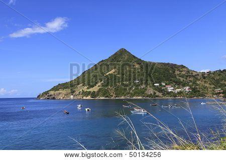 Morne Larcher, Anse D'arlet, Martinique island