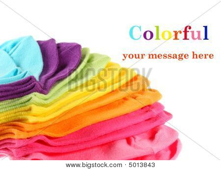 Colorful Kid's Ankle Socks