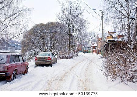 City Landscape, Sergiyev Posad