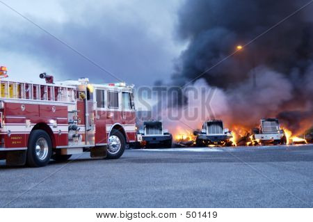 Truck Fire 3