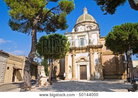 Sanctuary Church of Mater Domini. Mesagne. Puglia. Italy.