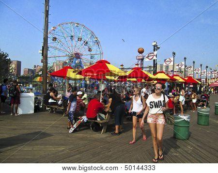 Boardwalk Coney Island