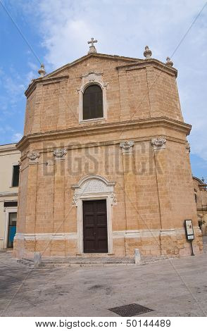 St. Maria della Pieta Church. San Vito dei Normanni. Puglia. Italy.