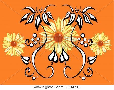 Black Eyed Susans Floral