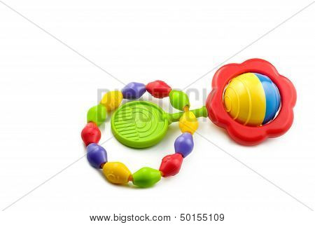 Baby Rattle And Teething Ring