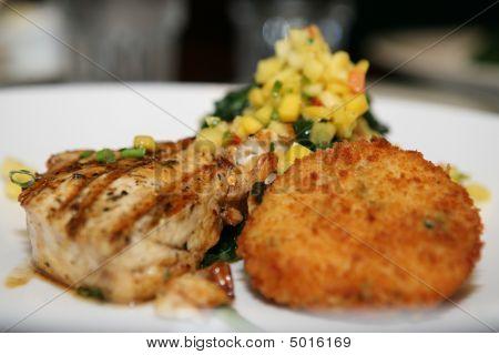 A Healthy Gourmet Swordfish Dinner