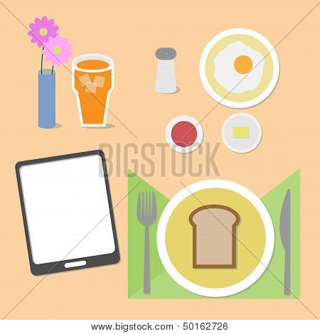 Food And Brain Breakfast Set