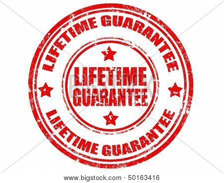 Lifetime Guarantee-stamp