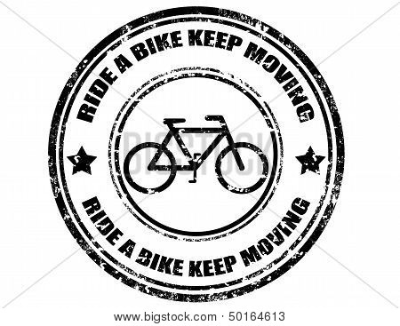 Ride A Bike Keep Moving