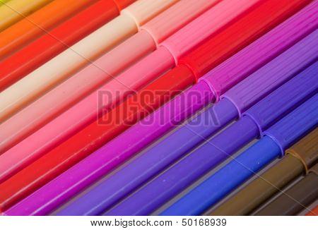 Multicoloured Pens
