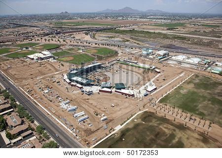Construction Of Ballpark