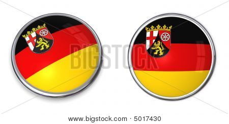 Banner Button Rhineland-palatinate/germany