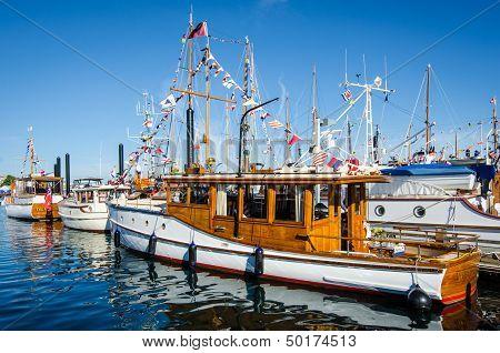 Beautifully Restored Classic Boats