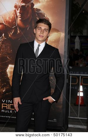 LOS ANGELES - AUG 28:  Nolan Gerard Funk at the