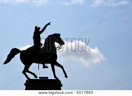 The George Washington Equestrian Monument