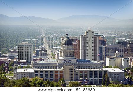 Panorama de Salt Lake City