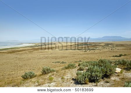 Great Salt Lake Landscape