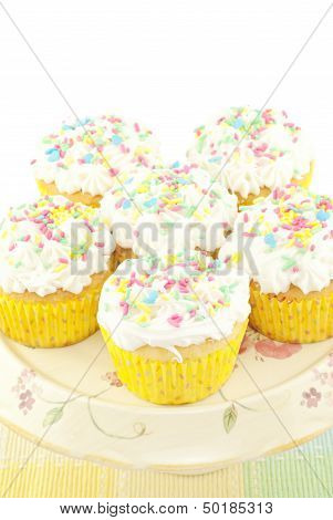Cupcakes With Sprinkles