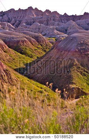 Rugged Badlands Beauty