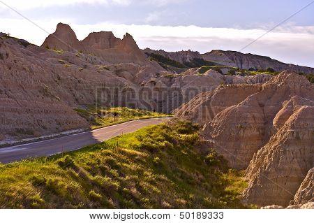 Badlands Scenery