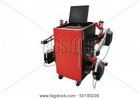 camber apparatus isolated under the white background