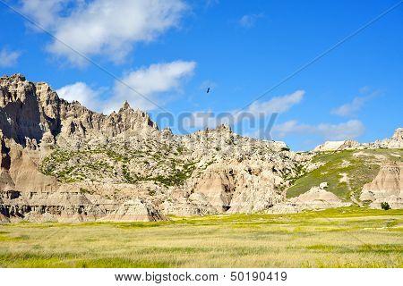 Hawks Above The Badlands