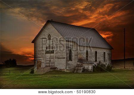 Rustic Prairie Building