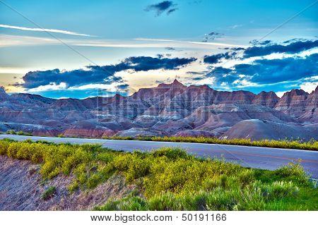 Badlands Hdr Photo