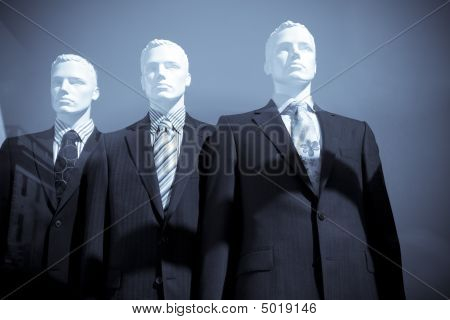 Men Dummies In Suits