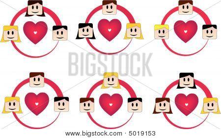 Triángulos de amor