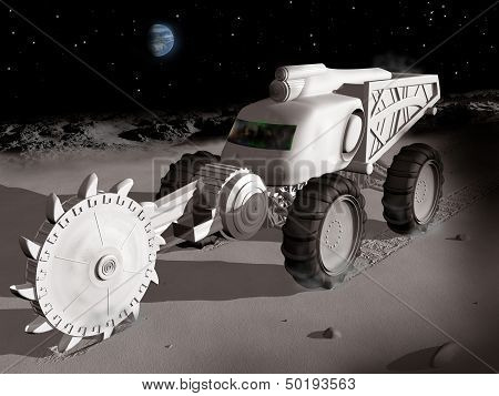 Mining On The Moon