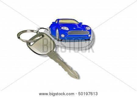 Car And Keychain