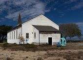 Abandoned Chapel At Historic Fort Ord