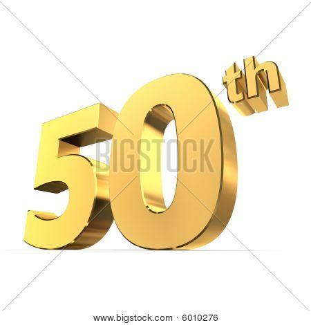 Shiny 50Th - Gold