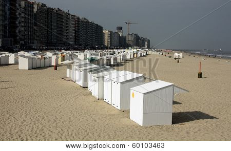 Beach Huts at Ostend (2)