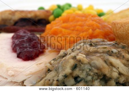 Sunday Roast - Thanksgiving Turkey Dinner