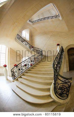 Marble Stairway