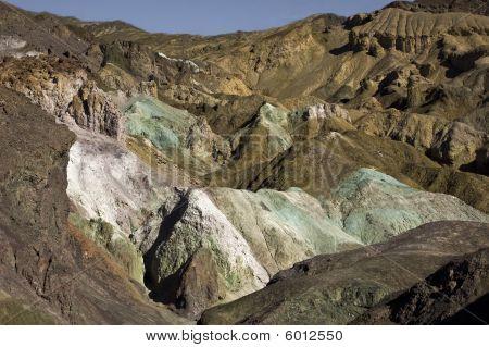 Death Valley - Artist Palette View