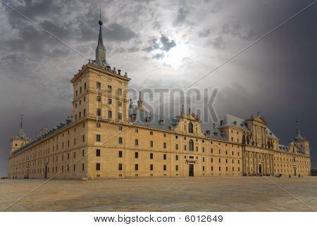 San Lorenzo Monastery In El Escorial, Madrid