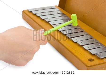Hand And Xylophone