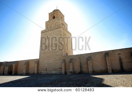 Great Mosque Of Kairouan In Tunisia
