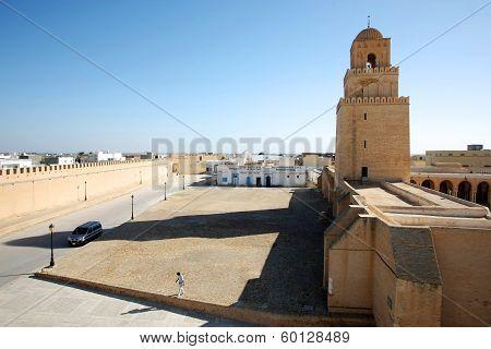 Great Mosque Of Kairouan Tunisia