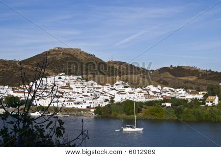 Frontier Between Portugal And Spain, River Guadiana